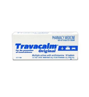 TRAVACALM ORIGINAL 10 TAB (S2) - Click to enlarge