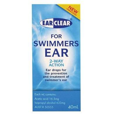 EAR CLEAR SWIMMERS EAR 40ML - Click to enlarge