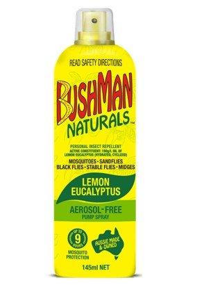 BUSHMAN NATURALS LMN/EUC 145ml - Click to enlarge