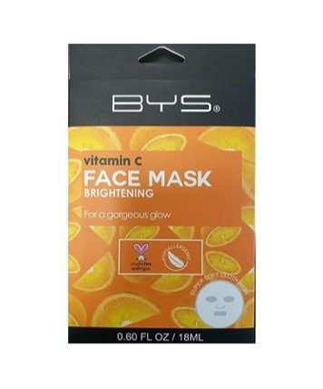 BYS FACE MASK CLOTH VITAMIN C - Click to enlarge