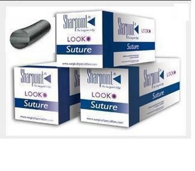 SUTURE NYLON 5/0 18M 12PACK - Click to enlarge