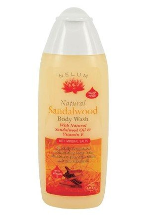 NELUM B/WASH 280ML SANDALWOOD - Click to enlarge