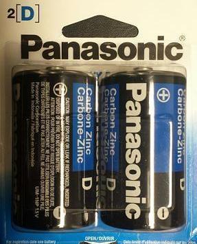 BATT PANASONIC D SHD 2PK - Click to enlarge