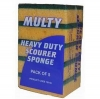#EDCO SCOURER SPONGE MULTY 5PK - Click for more info