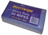 #EDCO M/WIPE WIPES 20PK BLUE - Click for more info