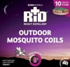RID MOSQUITO COILS PKT10 - Click for more info