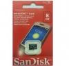 MEMORY CARD MICROSD 8G SANDISK - Click for more info