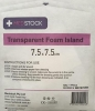 MS TRANSP FOAM ISL DRS 7.5X7.5 - Click for more info